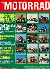 Motorrad 6 73 Ducati 750 Sport MCB Monark Morini 350 RD 250 SWM Kreidler 1973