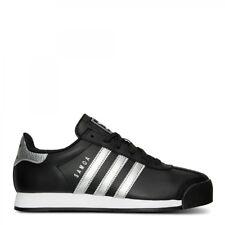 Adidas Originals Samoa Black Silver Metallic White Shoes Raiders Nets Spurs 10