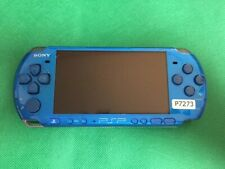 P7273 Sony PSP-3000 console Vibrant Blue Handheld system Japan Junk For parts