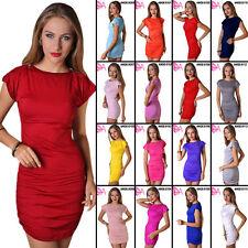Clubwear Cap Sleeve Stretch, Bodycon Dresses for Women