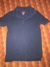 Cat & Jack Youth Boys Collared Polo Shirt Size Small 6/7 school uniform