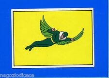 SUPER EROI -L'UOMO RAGNO FANTASTICI 4- Corno 1976 - Figurina-Sticker n. 217 -New
