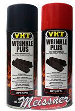 VHT Set 201+204 Schrumpflack Kräusellack schwarz und rot Wrinkle Plus 177°C