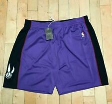 MITCHELL AND NESS TORONTO RAPTORS SWINGMAN SHORTS 1999 VINCE CARTER SZ 4XL