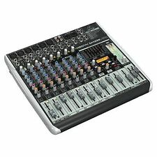 Behringer XENYX QX1222USB Mixer With Klark Teknik FX and USB Interface