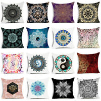 Polyester Cushion Cover Bohemian Geometric Pillow Case  Decorative Pillow Cover