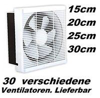 Axiallüfter Ventilator Industrie Metall Wandlüfter Absaugung Lüfter Ø350 3250m³h