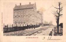 Netherlands Artillerie Kazerne Military Barracks Antique Postcard J55525