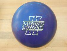 "NIB 15# Storm Phaze II Bowling Ball w/Specs of 15.3/3-3.5"" Pin/3.10oz TW"