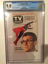 TV GUIDE VOL 1 #26 CGC 9.0 SUPERMAN 9/25/53 WHITE PAGES - GORGEOUS! RARE