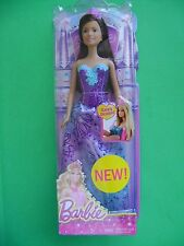 NIB Barbie Doll Mattel NEW 2014 Fairytale 'Easy Dress' - Fast FREE Shipping US