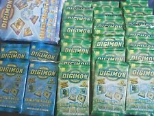 Lot of 25 Digimon Digi-Battle Series 1 Booster Packs Sealed + Starter Set