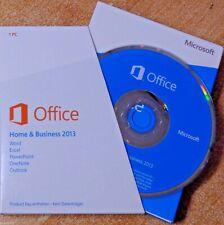 OFFICE Home & Business 2013 Vollversion Dauerlizenz | DVD CD 32/64Bit | DEUTSCH