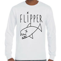 As Worn By Kurt Cobain Flipper - Mens T-Shirt Nirvana Grunge