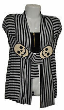 Women's Striped Cardigan