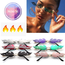 Womens Flame Fire Sunglasses Sun glasses Colourful Fashion Festival 400UV
