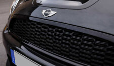 Gloss Black 3 Piece Grill Kit for Mini R55 R56 R57 R58 R59 Cooper S & JCW Gen 2