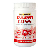 Rapid Loss Shake Strawberry Meal Replacement Weight Loss