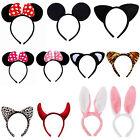 NEW Minnie Mouse Ears Bow Headband Hen Night Women Girl Mickey Party Fancy Dress