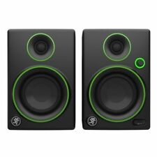 2 X Mackie Cr4 Professional Studio or DJ Monitor Speakers Leads 2year