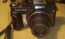 Sony Cyber-shot DSC-H10 8.1MP Digital Camera - Black  optic zoom 10x