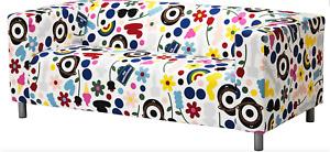 Ikea-Bezug,Neu OVP,für Ikea 2- er Sofa Klippan in Foernyad Bunt 20426139
