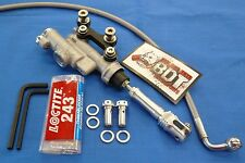 HONDA ATC 250R ATC250R OEM REAR BRAKE MASTER CYLINDER SYSTEM NEW BDT BILLET KIT