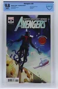 Avengers (2018) #39 Greg Tocchini Knullified CBCS 9.8 Blue Label White Pages