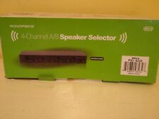 Monoprice MSV-4 4-Channel A/B Speaker Selector with Colume Control