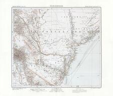Deutsch Ostafrika - Kilimandscharo Tansania Wilhelmskuppe Kolonialatlas 21