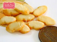 Dollhouse miniature Bread 10 PCs.of Toasted Baguette Slices