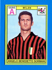 New CALCIATORI PANINI 1968-69-Figurina-Sticker - SORMANI - MILAN - Nuova