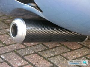 TVR TUSCAN SAGARIS CARBON FIBRE EXHAUST CANS SILENCERS NEW