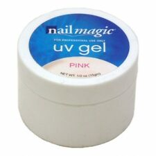 NAIL MAGIC PROFESSIONAL UV GEL PINK 15 g. Requires a lamp to work
