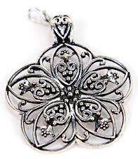 Laliberi Scarf Charm Jewelry Ornament Sliver Petal Flower EK Success NEW