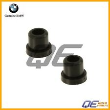 BMW E10 E30 E46 E82 E90 Set of 2 Genuine Emblem Roundel For Hood grommets