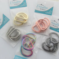 "Emmaline Bags D rings 1 "" / 25mm - range of finishes - for bags & crafts"