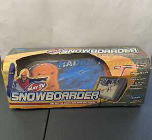 NEW Play TV Snowboarder Plug & Play Indoor TV Video Game Radica 2002