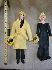 Dick Tracy Dolls Set of 2: Dick Tracy 14� Breathless Mahoney 14� - Applause 1990