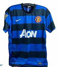 Manchester United Nike AON Soccer Football Jersey Men's Lg Wayne Rooney #10 Used