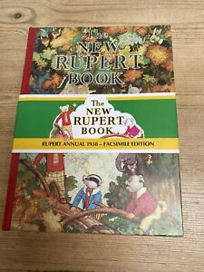 1938 RUPERT BEAR Annual - Facsimile Limited Edition- MINT Condition