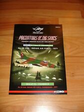 Certificate for Corgi Aviation Archive Predators PR99416 MiG-21 Fishbed Diecast