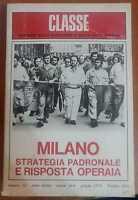 Milano strategia padronale e risposta operaia,A.a.V.v.,1976,Dedalo Libri - S