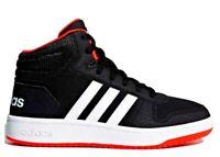 Scarpe bambino Adidas 5743 sneakers alte sportive ginnastica tennis pelle scuola
