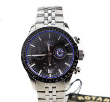 Rotary Gb90048/04 Chelsea Football Club Special Edition Chronograph Mens Watch