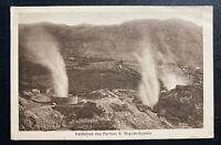 1930s Acores Portugal RPPC Postcard Cover To Saginaw MI USA furnace boilers