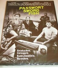 Passwort Swordfish - DVD/NEU/OVP/Action/Hugh Jackman/John Travolta/Halle Berry