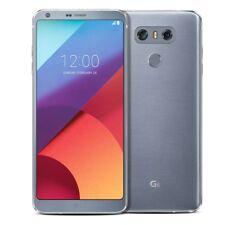 "Unlocked LG G6 (Latest 5.7"") H871 32GB 4G LTE Ice Platinum (AT&T T-Mobile) Phone"