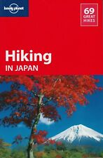 LONELY PLANET - HIKING JAPAN - TRAVEL GUIDE - RARE OUT OF PRINT - NEW