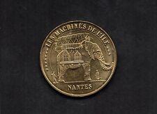 Monnaie de PARIS Jeton médaille NANTES elephant LES MACHINES de l'ile 2010